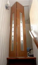 Treppenaufgang Tür schiebetuer